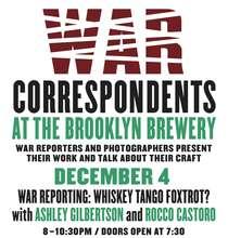 The last War Correspondents event of 2013