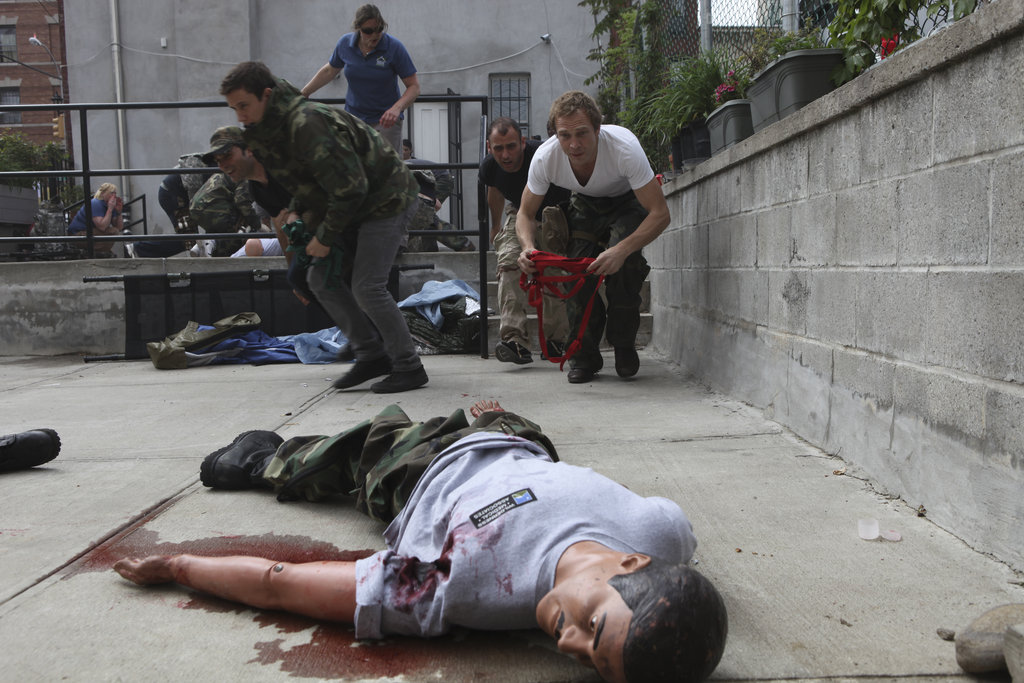 Train 24 Freelance Journalists in First Aid