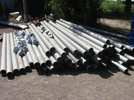 Our well drilling supplies have arrived!
