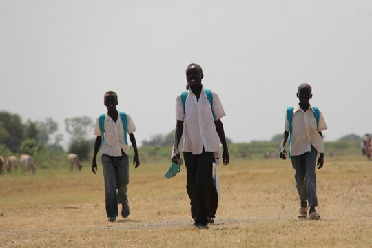 Students will return home to clean water