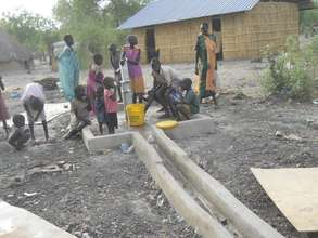 Most recent water well constructed by ASMP