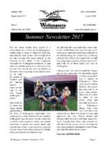 Summer 2017 Newsletter (PDF)