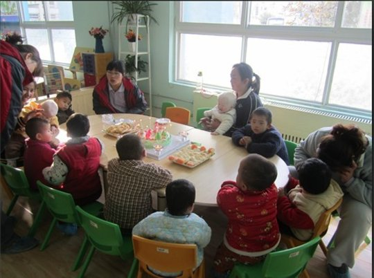 A Bethel party in the Zhengzhou orphanage