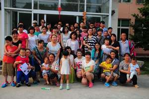 Attendees of Bethel China's training workshop