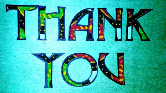 We are glad you are part of us!