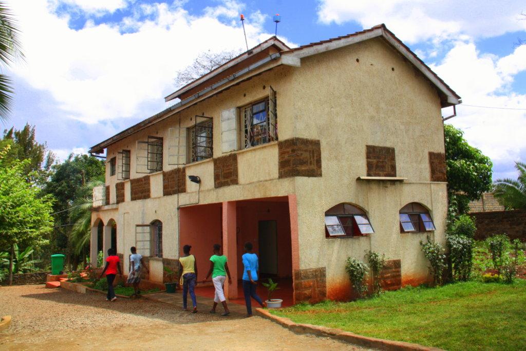Our current shelter based in Nairobi, Kenya