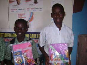 School children holding their school materials 3