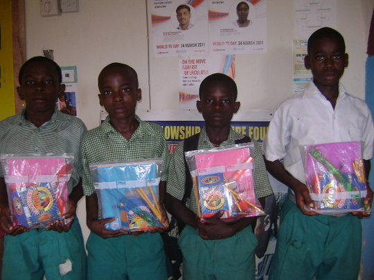 Help Give Backpack of Hope to a Child in Nigeria
