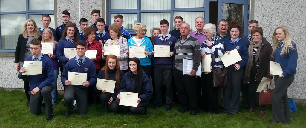 Gaelcholaiste Mhuire students and older learners