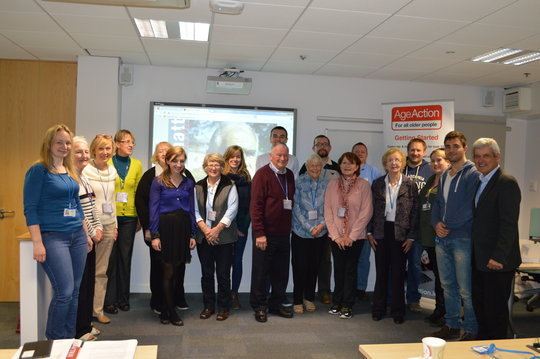Students and Volunteers at EMC, Cork