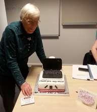 Jacqueline & her fantastic cake