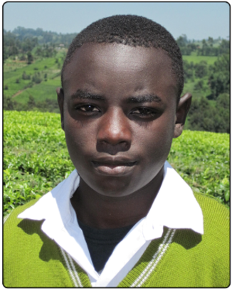 Julius completed secondary school