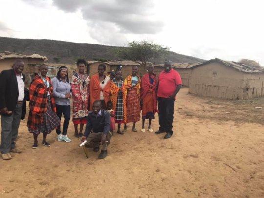 Pastor Benjamin and Pulei's family