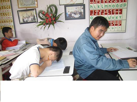 Students in Dalat Home