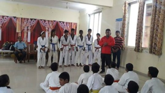 State level Karate tournament
