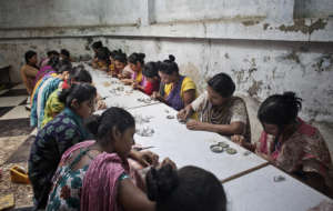 jewellery making programme at our centers