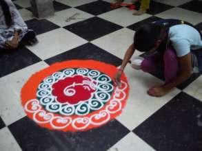 Sanskar Bharti Rangoli classes