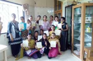 completed training of Tailoring.