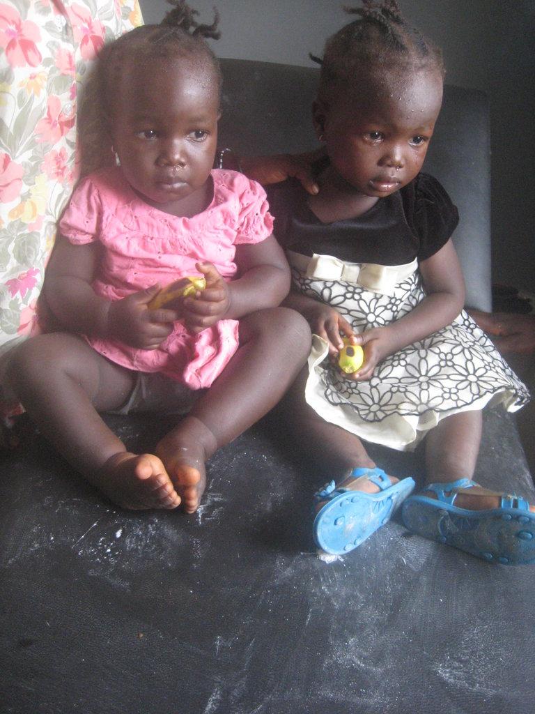 Jatu and her twin sister