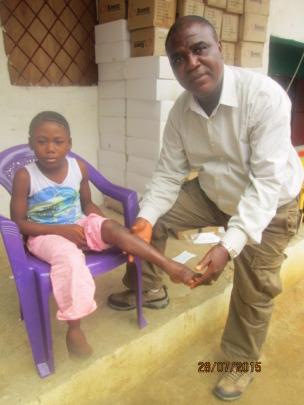 Cynthia from Liberia