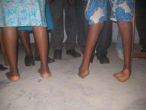 A comparison of normal vs. clubfoot heel