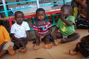 Children awaiting treatment