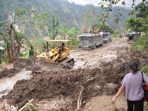 North Luzon after typhoon Ketsana (2009)