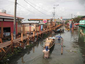 Emergency flood support Manila, Philippines