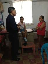 Medical clinic at Los Patojos, Guatemala