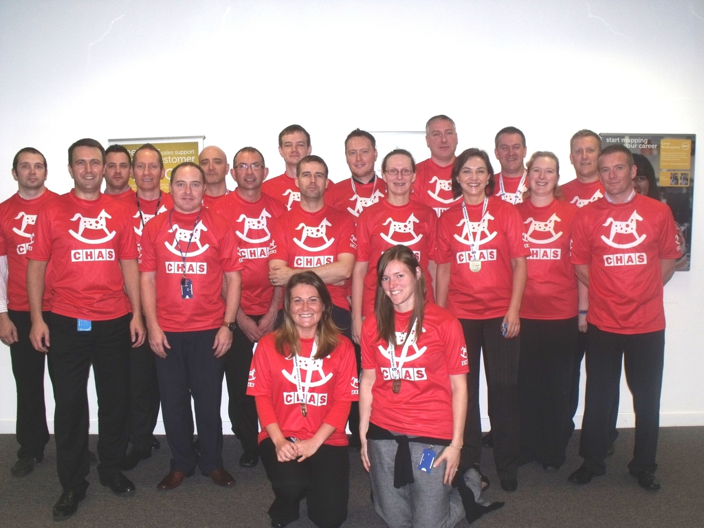 Dell team at Great Scottish Run