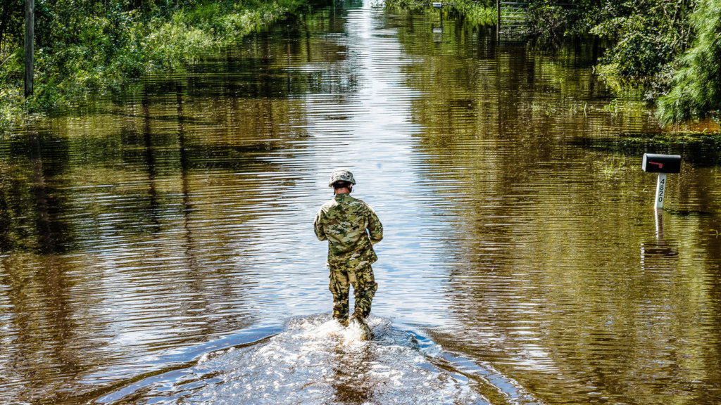 High water (Florida National Guard, Ching Oettel)