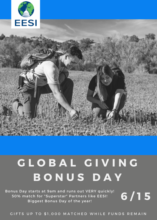 Give today on Bonus Day for a 50% match!