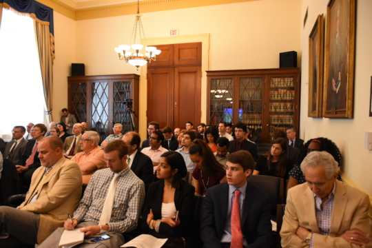 A full house at the May Biogas briefing