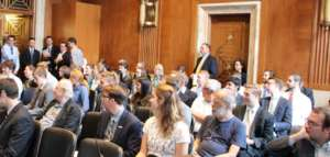 Audience at September 28 offshore wind briefing