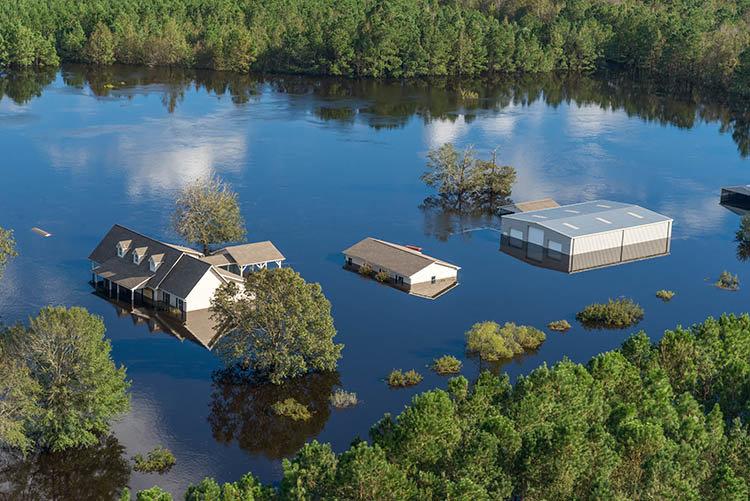 Major flooding in N. Carolina (Liz Roll-FEMA)