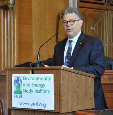 Rep. Al Franken (D-MN) discusses energy issues.