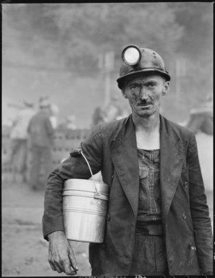 Henry Fain, coal worker in Appalachia, 1946