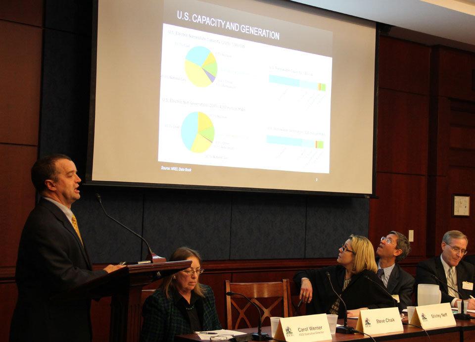 Steve Chalk discusses the future of renewables