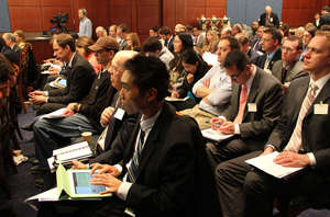 Renewable Energy briefing was standing-room-only