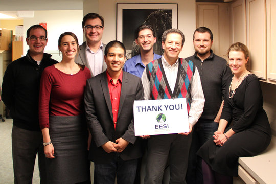 EESI's staff thanks you for your commitment!