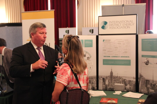 Networking at the 2015 EXPO