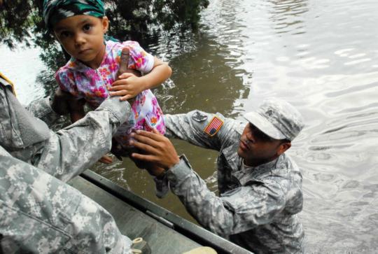 Rescue, Hurricane Isaac (CC courtesy U.S. Army)
