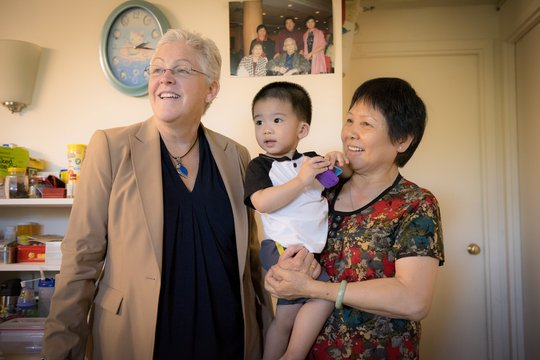 EPA's McCarthy visits child with asthma in Boston