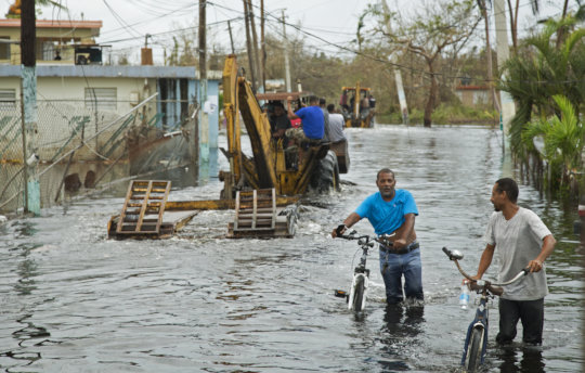 Municipality of Loiza. Credit: FEMA, Yuisa Rios
