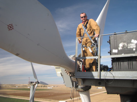 Wind turbine technician (US Department of Energy)