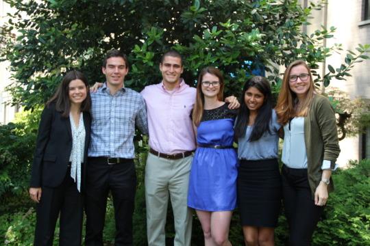 EESI's Summer 2015 Interns