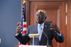 Rep. Clyburn at EESI's on-bill financing briefing