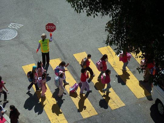 School Traffic (CC courtesy jeweledlion)