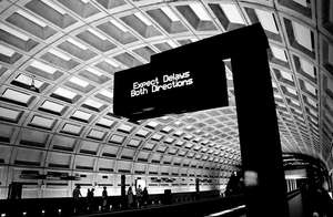Train Delays (CC courtesy Barbara Krawcowicz)
