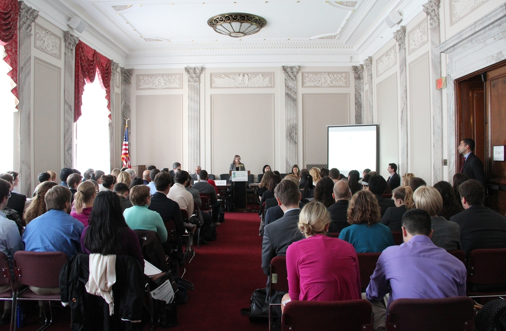 Packed house at EESI Congressional briefing